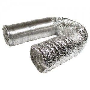 102mm aluminium ventilation duct