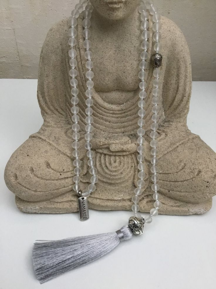 Mala halsband yoga/meditation buddha 108 6mm