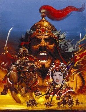 生頼範義 / 光栄 / 蒼き狼と白き牝鹿 / Noriyoshi Ohrai / Noriyoshi Orai / KOEI / Aoki Okami and Shiroki Mejika (Blue Wolves and White Does / Genghis Khan)