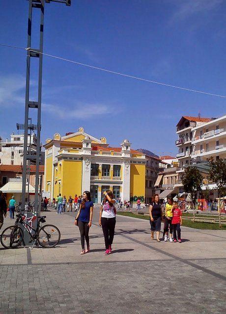 Walk in Tripoli, Arcadia, Greece