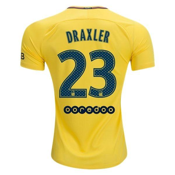 Nike Julian Draxler Paris Saint-Germain Away Jersey 17/18