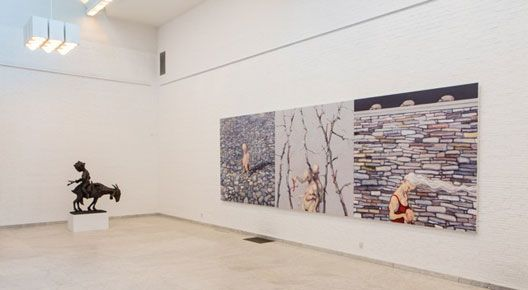 Real Monsters exhibiton by Michael Kvium at KUNSTEN Museum of Modern Art Aalborg