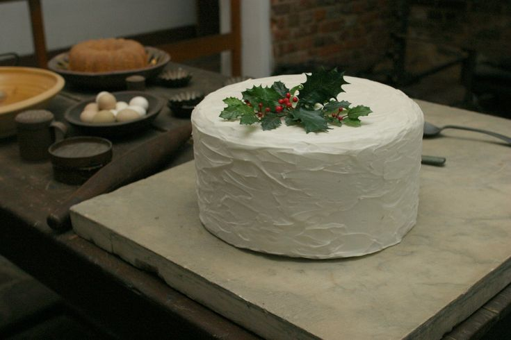 Bake Martha Washington's famous Great Cake for the holidays -- using either the original 18th century recipe or a modernized version. Photo copyright Mount Vernon Ladies' Association.