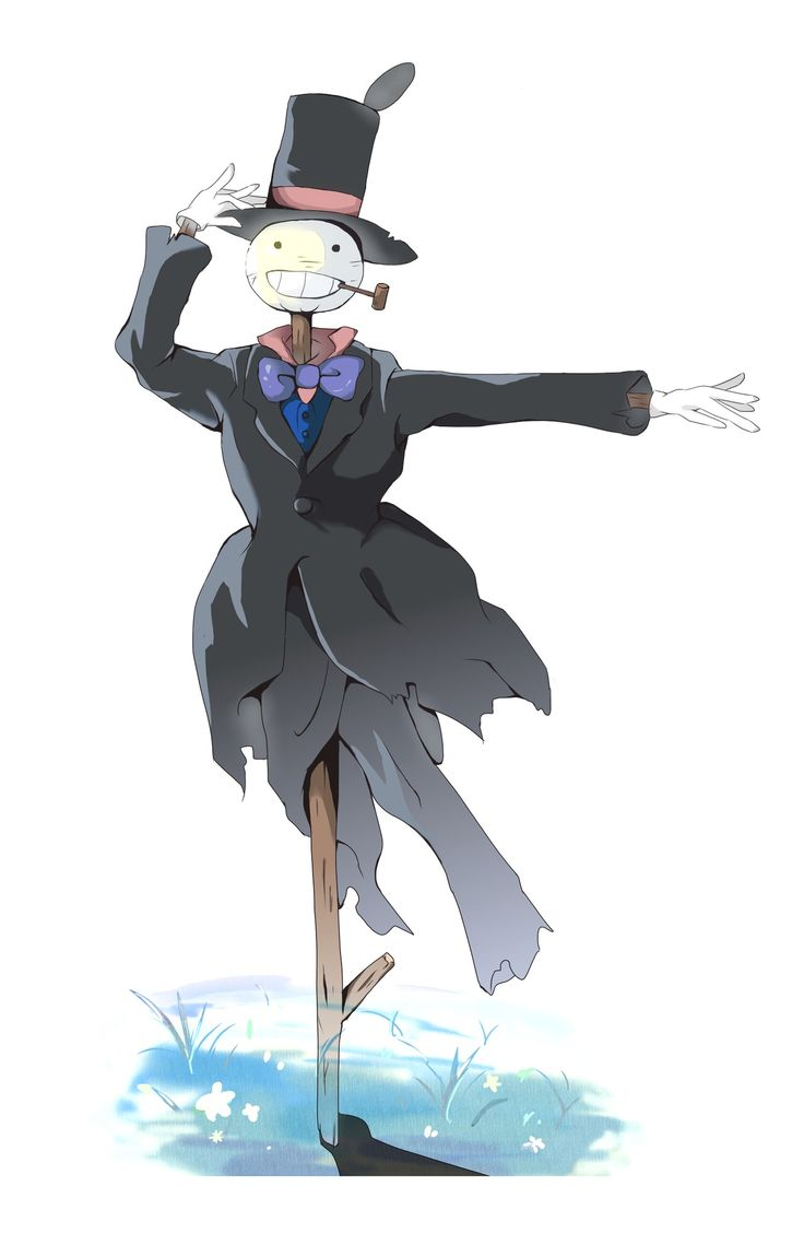 Turnip Head! davidcharlesfoxexpressionism.com #studioghibli #miyazaki