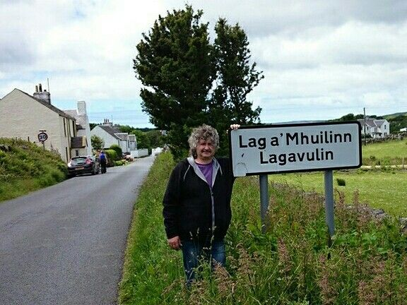 Me during our stay on #Islay, nearby #Lagavulin, my favorite distillery 😊. June, 2014 #Scotland.