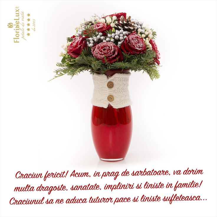 Felicitare de Craciun, felicitare virtuala de Craciun, felicitari cu flori de Craciun  https://www.floridelux.ro/flori-pentru-ocazii/flori-cadouri-sarbatori/flori-cadouri-craciun-25-decembrie/