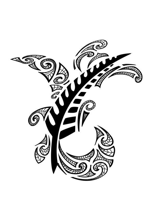 Hawaiian Symbol for Family | maori tattoos designs for feet. Traditional Maori: This tattoo looks ...