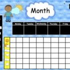 This 83 page colorful, interactive SmartBoard Complete Morning allows your students to review essential math skills every day. I also include 4 dif...