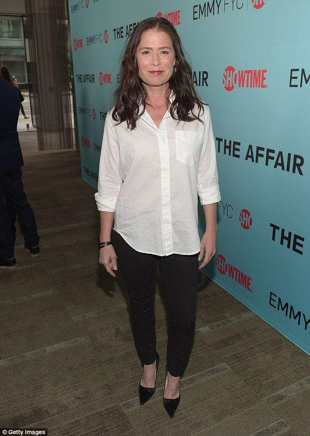 New season: Actress Maura Tierney attends a screening of The Affair in Beverly Hills in Ma...