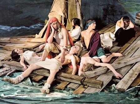 """géricault """"le radeau de la méduse""""  video adad hannah"""