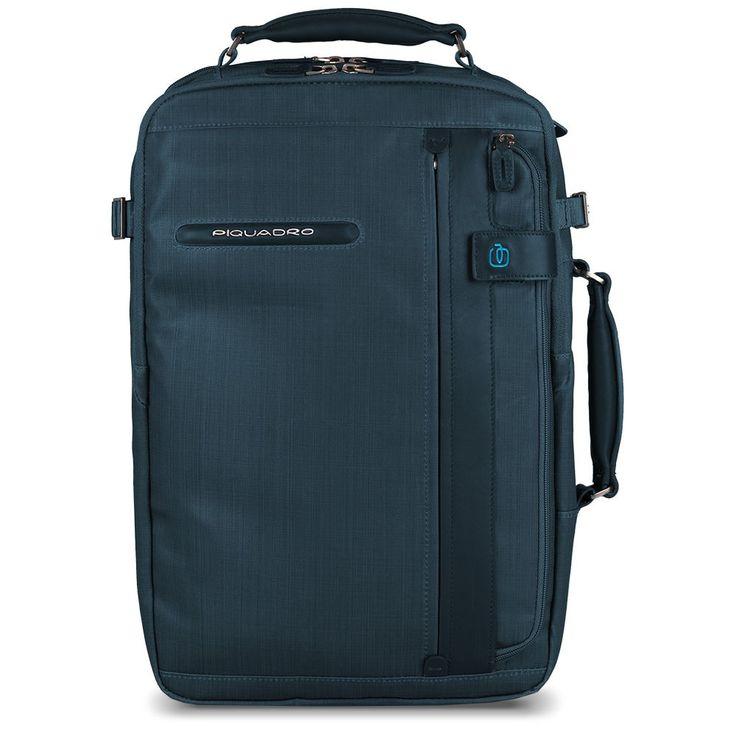 Cartella con portabilità a zaino, tasca porta PC