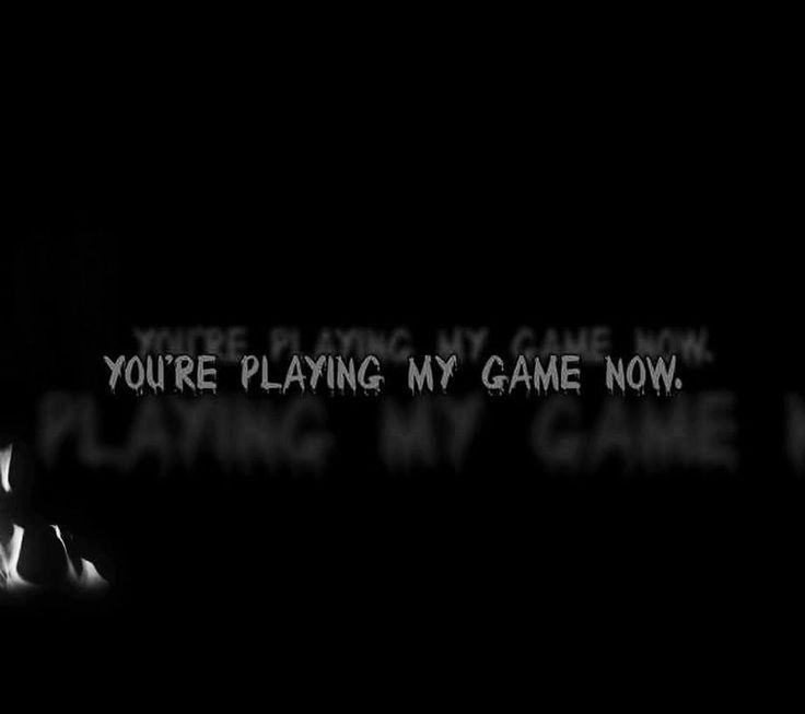 Ahora estás jugando a mi juego