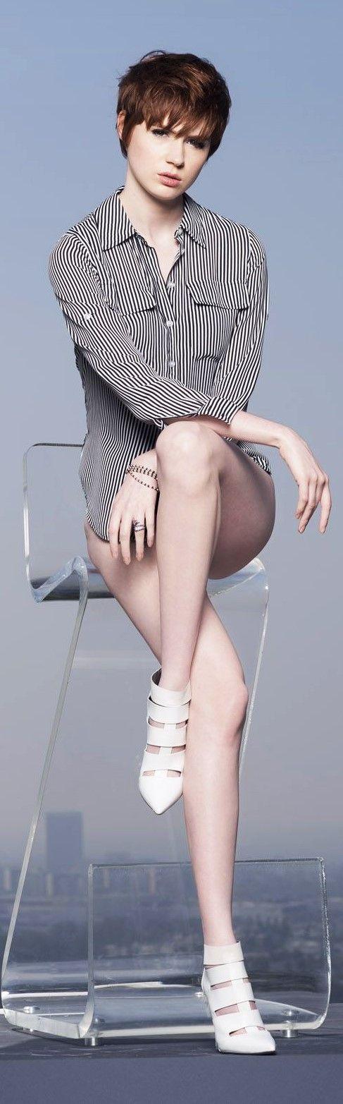 Karen Gillan - could be McCoy's ex-wife