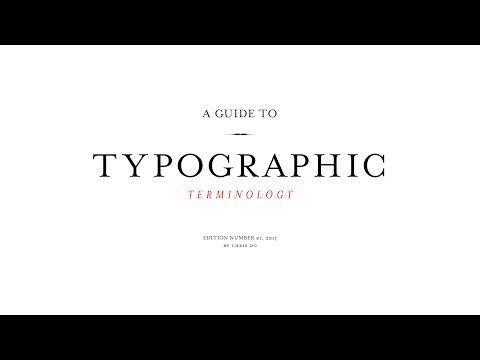 A To Z Of Typographic Terminology: Typography Terms All Designers Should Know - DesignTAXI.com