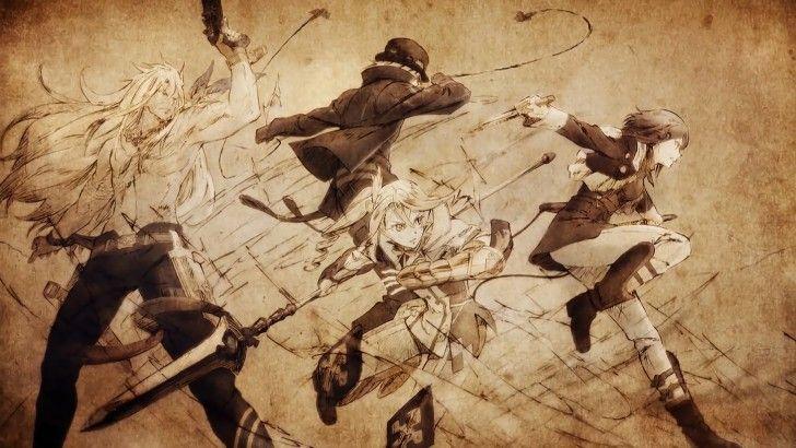 Tales of Zestiria the X Zaveid Dezel Alisha Rose Wallpaper