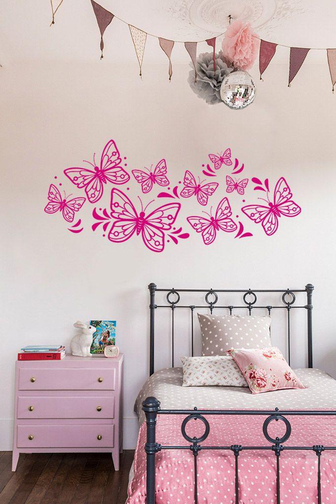 Mariposas Daphne - Vinilos Decorativos Fotomurales Adhesivos - Medellín