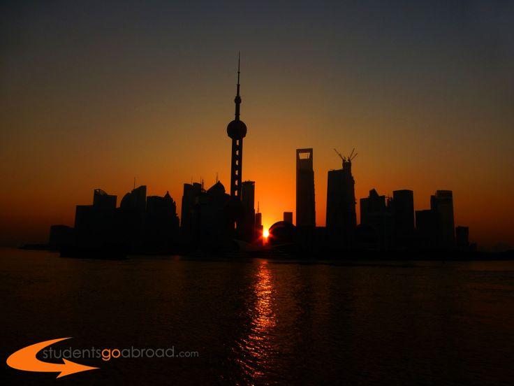 #Sunset in #Shanghai