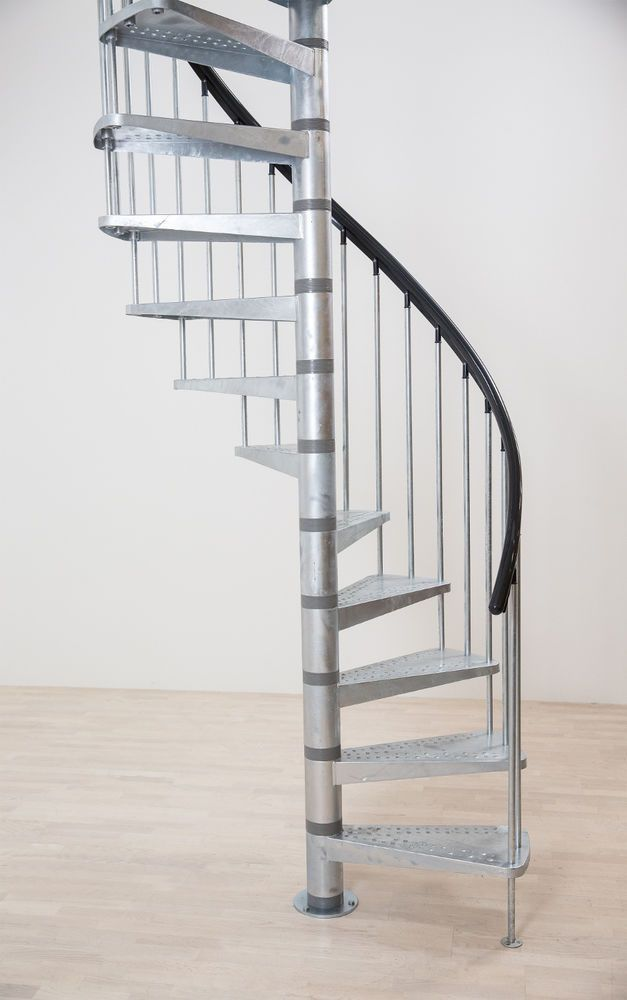 Dolle Toronto V3 Exterior Spiral Staircase Kit In Stock