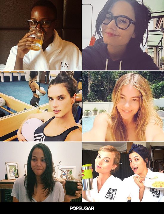 These Makeup-Free Celebrity Selfies Will Inspire You to Bare It All. #latina #celebritybeauty #makeupfree #selfies