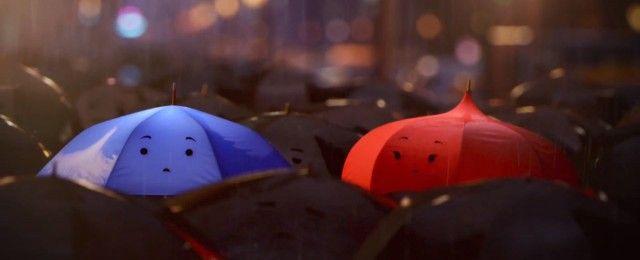 Pixar – Blue Umbrella – Fubiz™