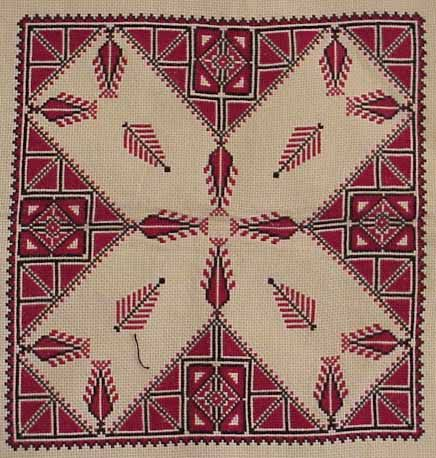 It Was a Work of Craft (Palestinian embroidery)
