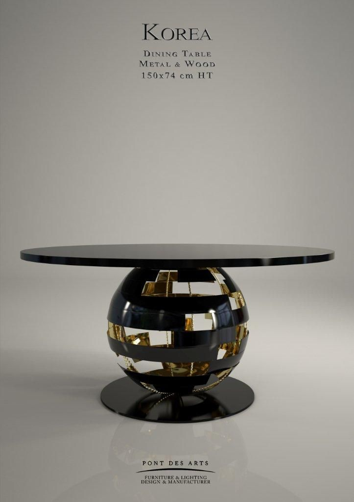 Korea Dining table Black