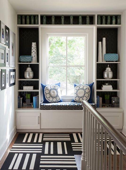26 ide desain penataan rak buku unik untuk rumah anda