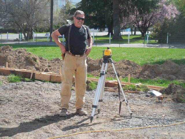 Roger Whittlesey from All Valley Construction. Contractor for new shop! Roger is a joy to work with!