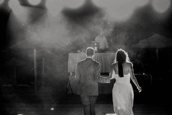 Beautiful B&W photo by George Pahountis See more http://www.love4weddings.gr/romantic-wedding-rhodes-photoshoot-by-pahountis-photography/