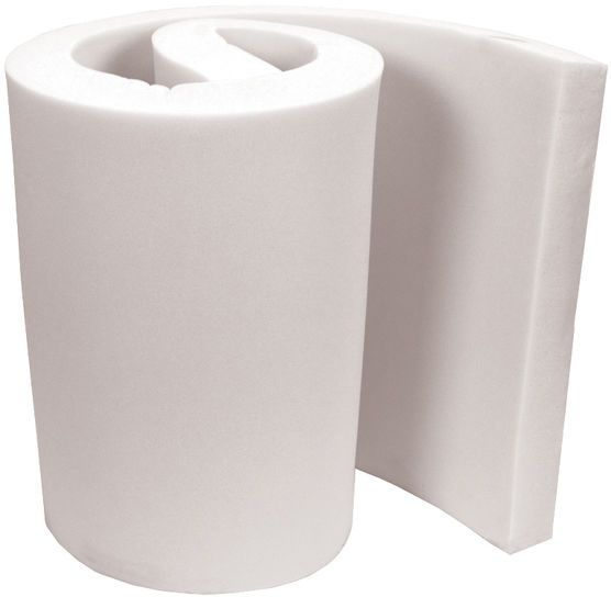 """This is usually cheaper at Fred Meyer, but you would get 2 cushions out of a roll like this as it would be half as wide. Air-Lite Extra High Density Polyurethane Foam 2""""x36""""x82"""""""