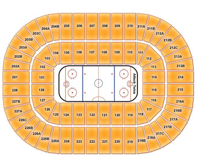 Joe Louis Arena Seating Chart Row Numbers - Best Seat 2018
