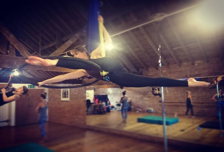 """Kate Dowdall on Instagram: """"Aerial hoop is the best way to start off my week. Especially when we get to learn something new. Sorry for the crotch shot  #sorrynotsorry…"""""""