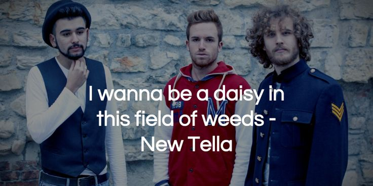 """NewTella - """"I wanna be a daisy in this field of weeds..."""""""