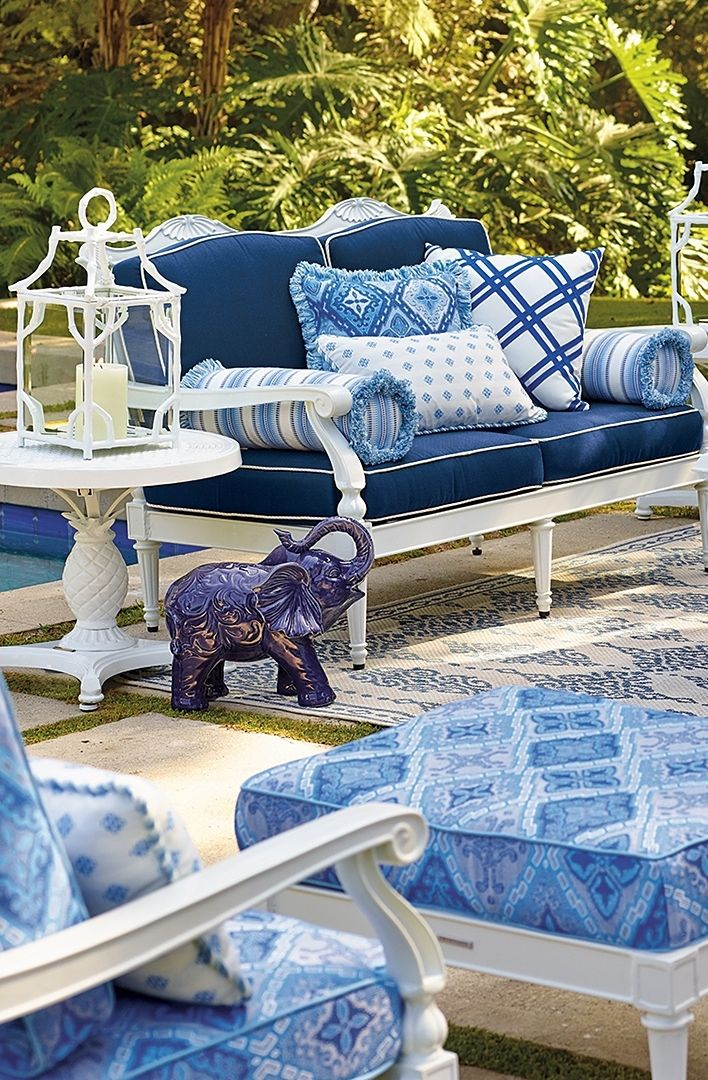 Best 25 Blue Patio Ideas On Pinterest Royal Blue Color