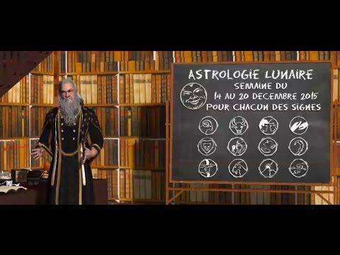 Astrologie Lunaire ☽ Semaine du 14 au 20 décembre 2015