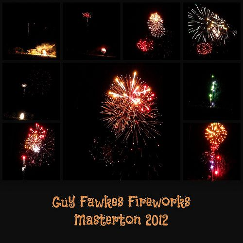 Guy Fawkes fireworks
