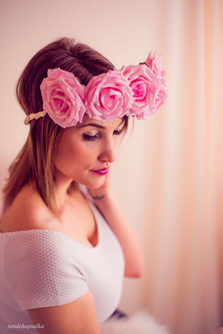 Szépséges rózsakoszorú