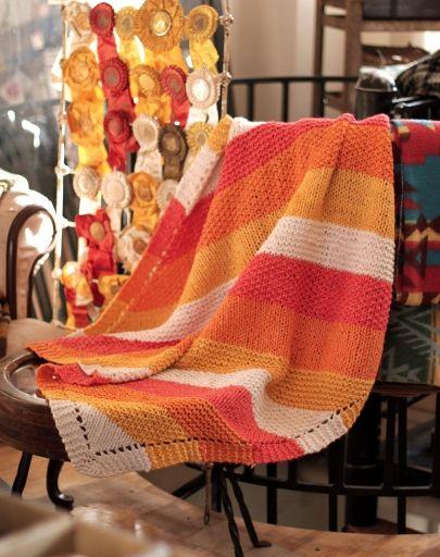 O-Wool Breipatronen: Deken