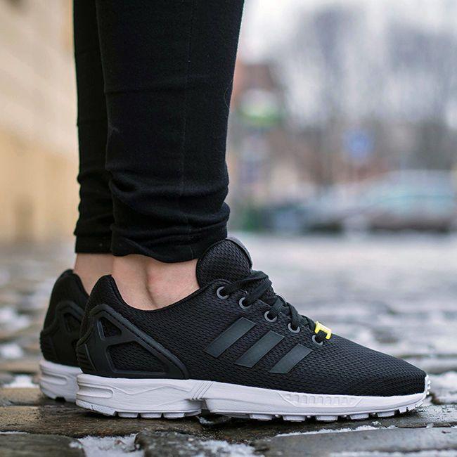 adidas zx flux k black