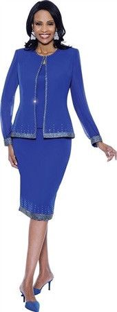New! Susanna 3pc Jewel Embellished Suit