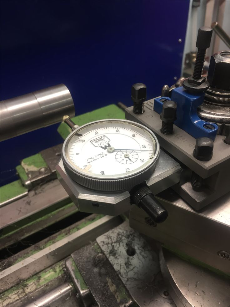 Tool post indicator holder for the lathe