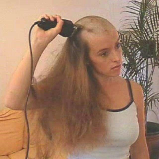 Shearing bald erotic