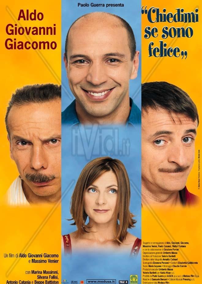 Chiedimi se sono felice, Aldo Giovanni e Giacomo, Italy, 2000
