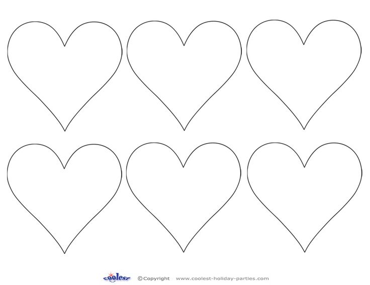heart shapes to print and cut out | Previous Printable Next Printable ...