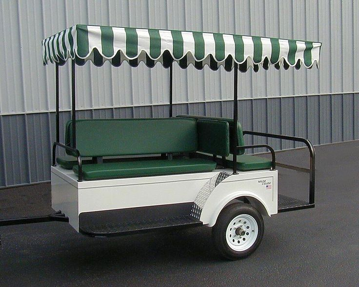 Pull Behind Trailer for golf cart