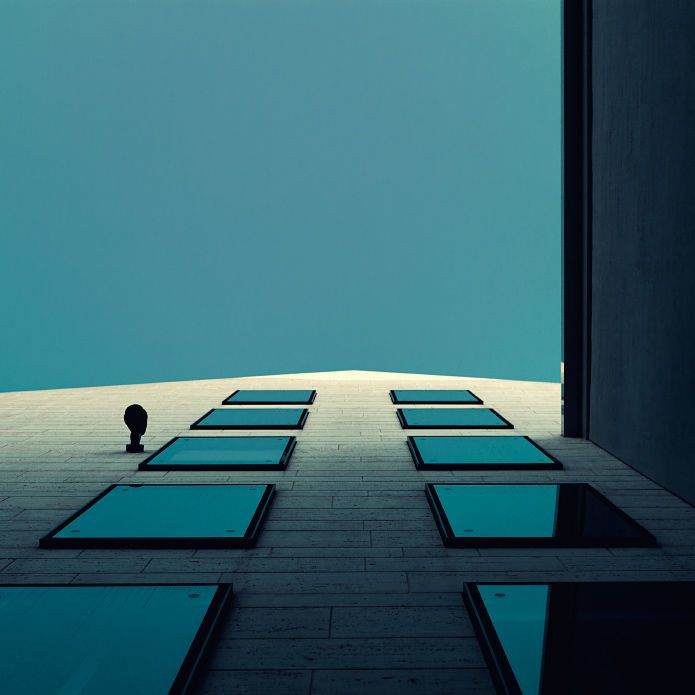 These are the stunning architectural photographs of Nick Frank, a photographer inspired by giving unusual spaces and buildings an entirely new perspective. He gets inspiration for his photographers from the internet, television, the subway, and even in the shower. In his photography he does not try and portray reality, but instead try's to show his own subjective view. The end result is these stunning minimal photographs. Munich Exposed. Mira, a shopping center located in Munich/Germ...