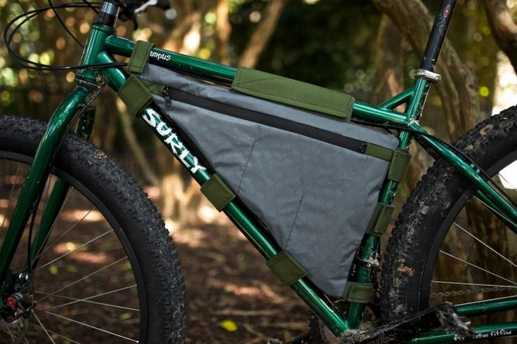 DIY Framebag - Used this how to as the basis for making custom bags for 4 different bikes