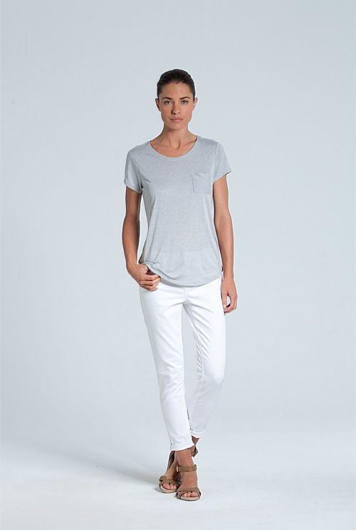 Drapey Marle T-Shirt