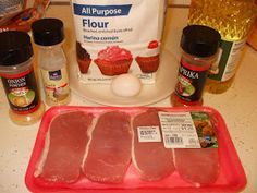 Easy Does It: Southern Fried Pork chops..these were soo good! We all loved them..definitely a southern dish:)