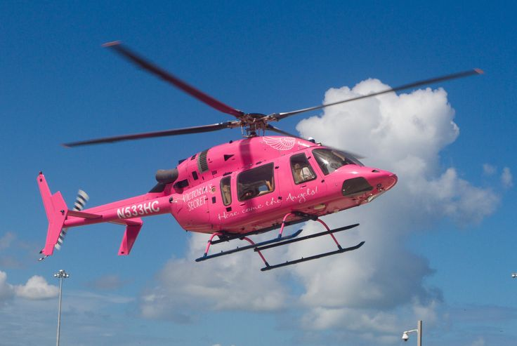 Victoria's Secret PINK Helicopter | Pink My Ride ...